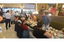 Personelimizle iftar yemeğinde buluştuk